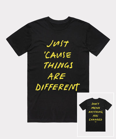 'Just 'Cause' Black T-Shirt