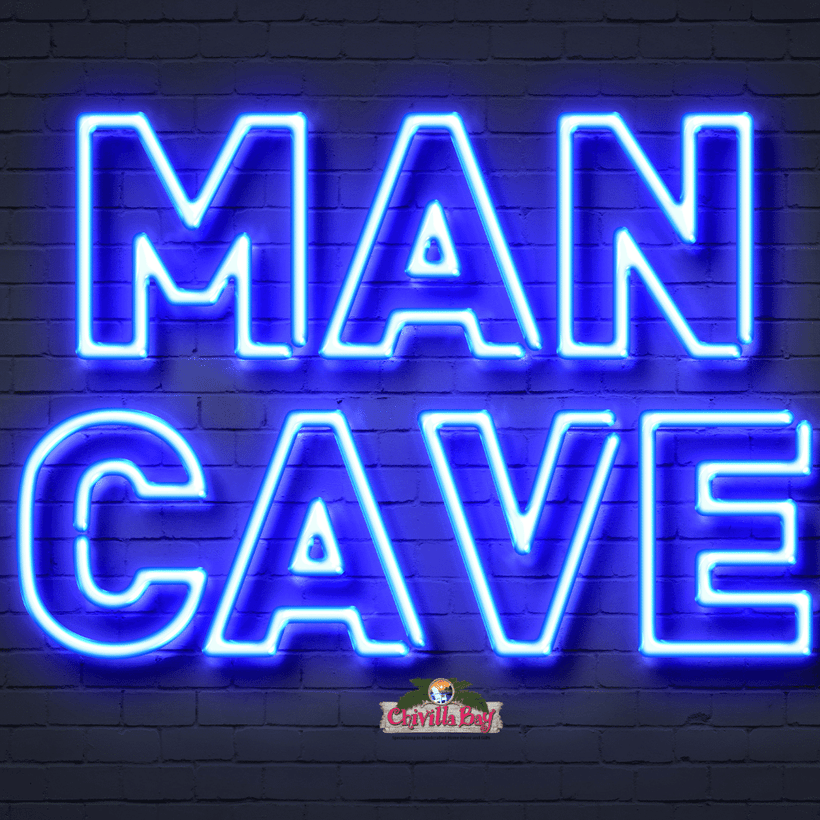 Man Cave and Bar Decor