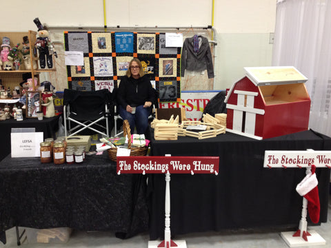 Crookston Craft Show booth