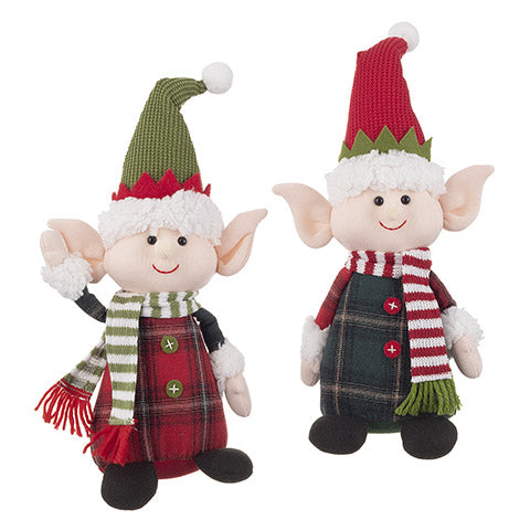 Plaid Elf Doll