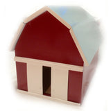 Handcrafted Wooden Toy Barn