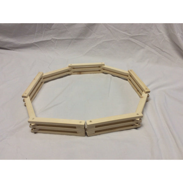 Handcrafted Wooden Toy Folding Fence