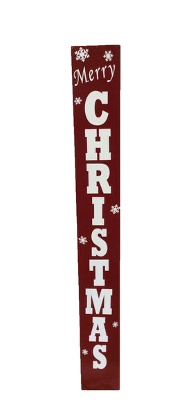 Rustic Porch Sign - Reversible - Merry Christmas/Welcome