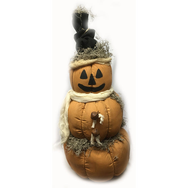 Primitive Harvest Pumpkin Greeter Fall Decor