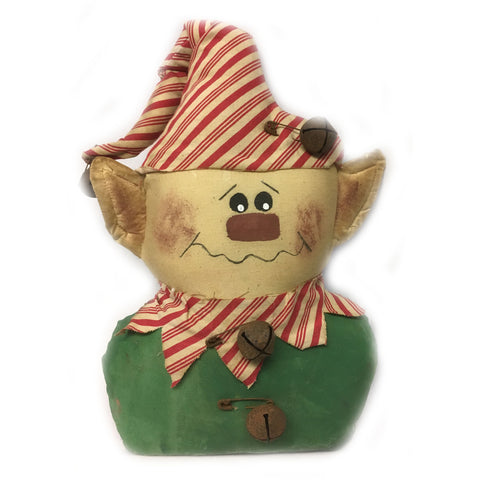 Primitive Jingle Elf Shelf Sitter