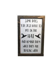 Rustic Halloween Kitchen Sign - Halloween Home Décor - Sassy Halloween Sign