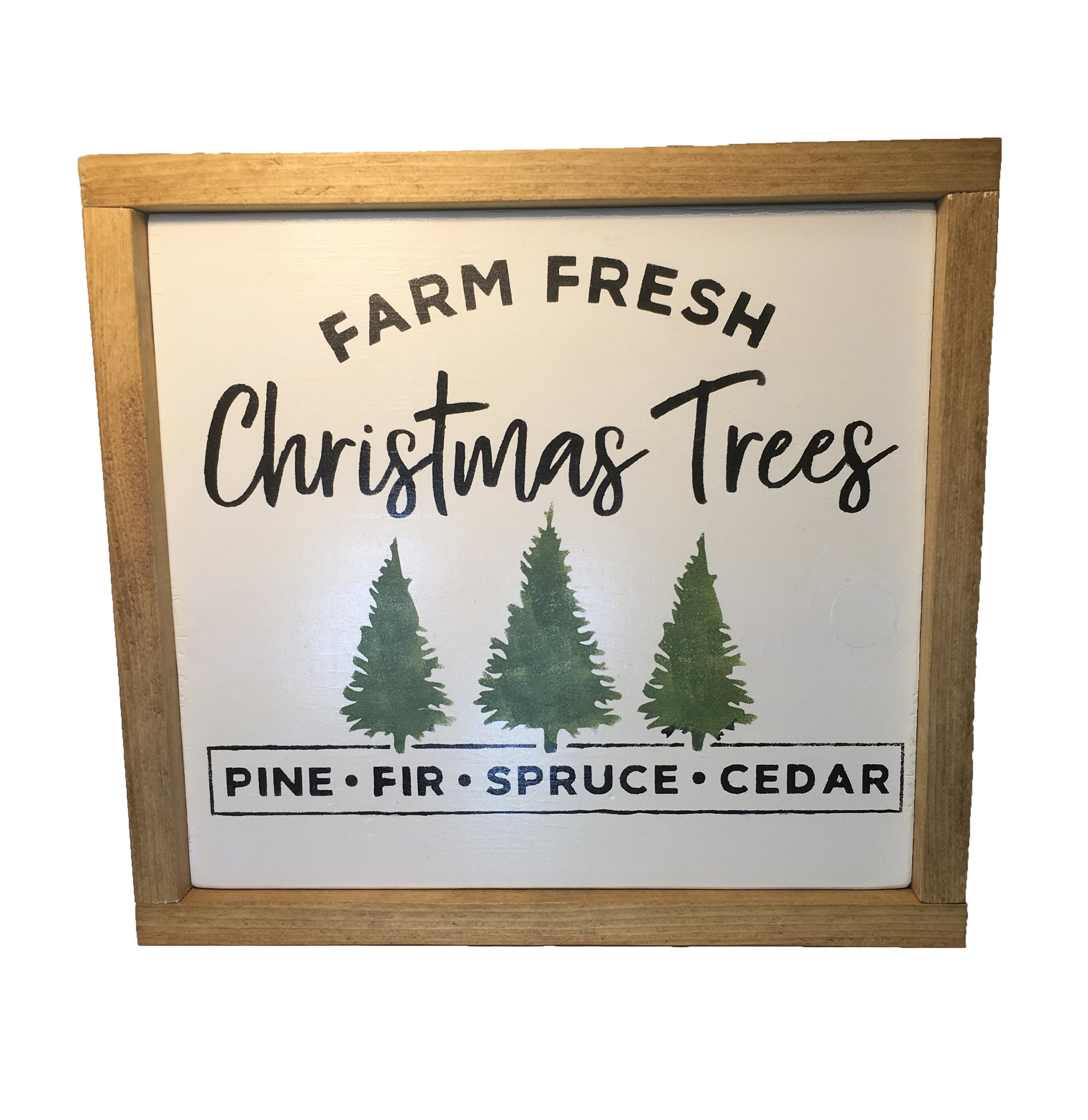Rustic Farmhouse Christmas Trees for Sale Sign - Christmas decor - Northwoods Decor