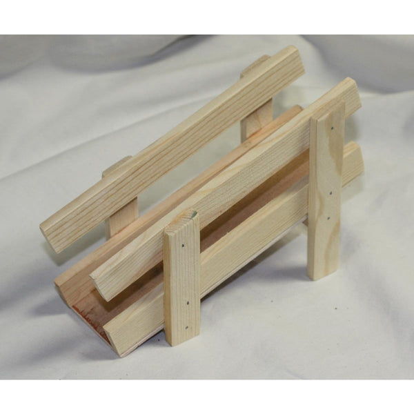 Handcrafted Wooden Toy Loading Cattle Chute