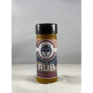 Lone Wolf Rub - Sweet Heat