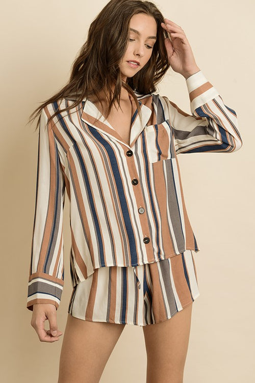 Endless Stripes pajama set