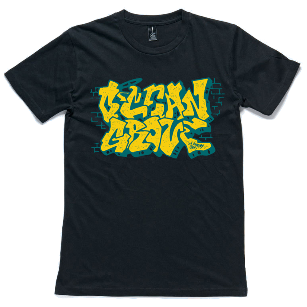 Graffiti Tee (Black)