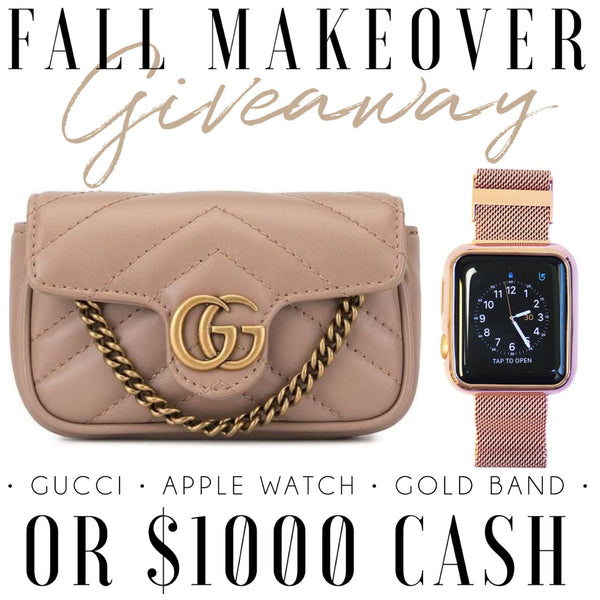 Fall Makeover OR $1000 (OCT 26)