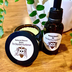 Beard Balm and Beard Oil set