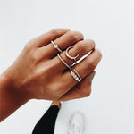 FEYDIA | Luxury Ring Set | GOLD
