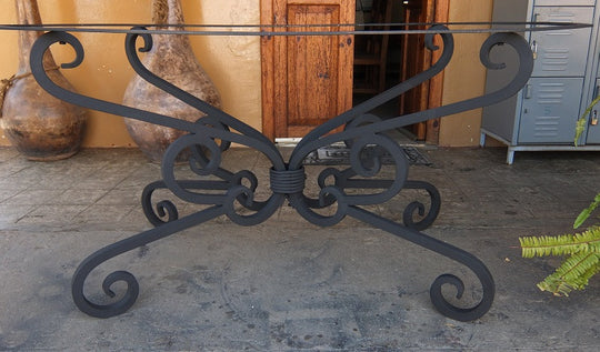 Wrought Iron Bases