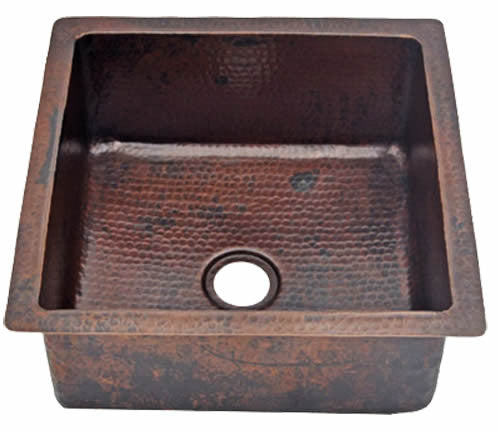 Copper Square / Rectangular Sinks