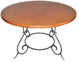 SCROLL Design - Wrought Iron Table Base Handmade for Coffee Tables, Dining Table, etc (Various Sizes, #TBAS_CLASSIC)