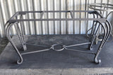 TUG OF WAR Design - Wrought Iron Table Base Handmade for Coffee Tables, Dining Table, etc (Various Sizes, #TBAS_TUGOFWAR)