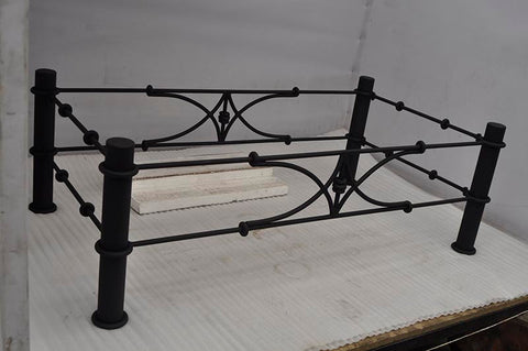 ... BAMBOO Design   Wrought Iron Table Base Handmade For Coffee Tables,  Dining Table, Etc ...