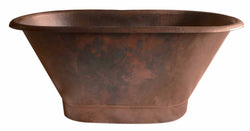 Hand Made Copper Bath Tub Classic Design ( Various Sizes, #CBT-CD)