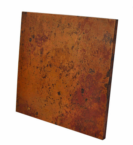 50 Inch Square Copper Table Top Hand Hammered (Various Colors) ...