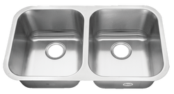 Stainless Steel Undermount Kitchen Sink Double Bowl 18 gauge or 16 gauge