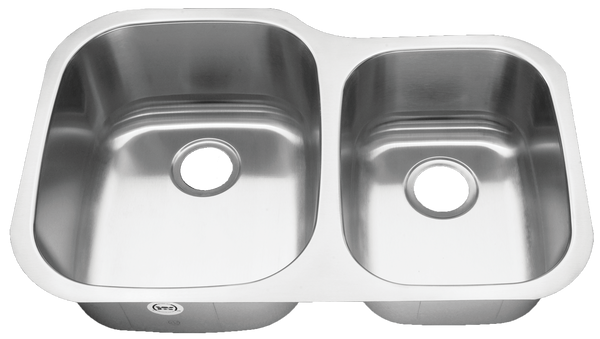 Stainless Steel Undermount Kitchen Sink Double Bowl 60/40 18 gauge or 16 gauge
