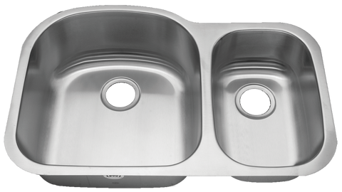 Stainless Steel Undermount Kitchen Sink Double Bowl 70/30 18 gauge or 16 gauge