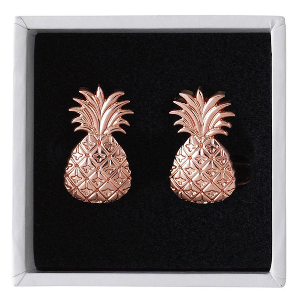 Pineapple Cufflinks - Elyx Boutique