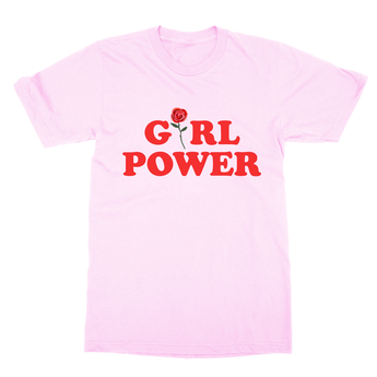 Girl Power Tee - Pink