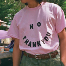 No Thanks Tee - Pink