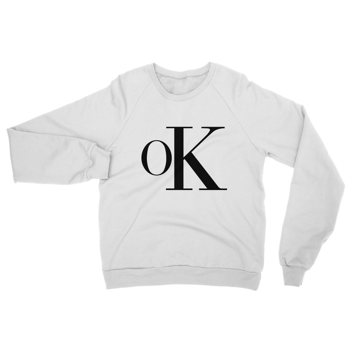 OK Sweat - White