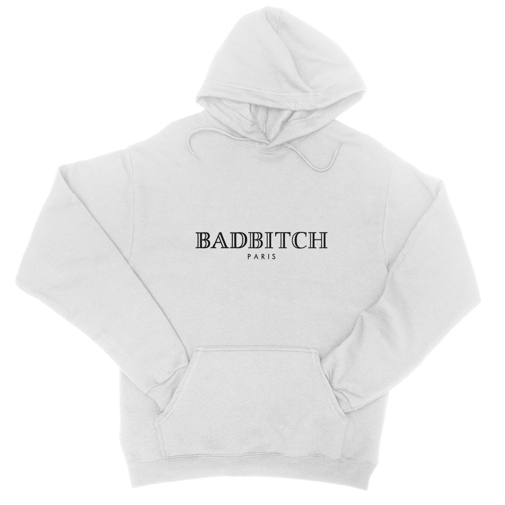 Bad Bitch Hoodie - White