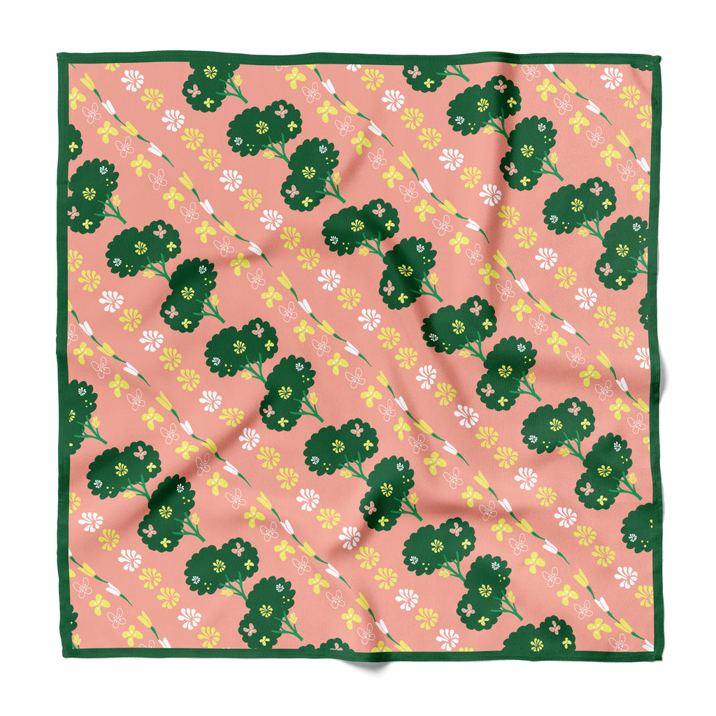BROCCOLINI  - Cotton Silk Bandana