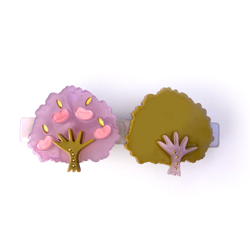 Nicasio Trees  - Hair Barrette