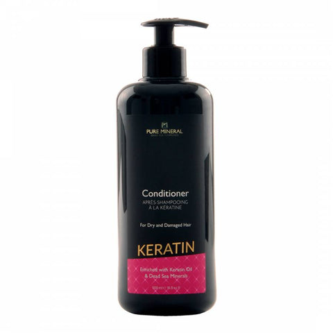 Pure Mineral - Keratin Hair Conditioner - DeadSeaShop.de