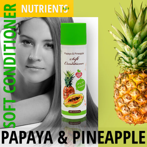 Papaya & Pineapple Vegane Haar Conditioner - deadseashop.de
