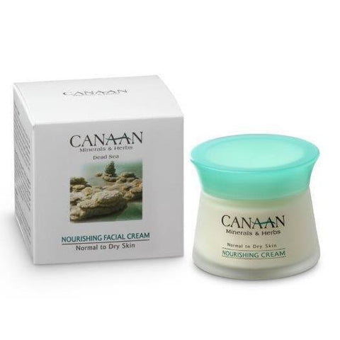 CANAAN Minerals & Herbs - Nourishing Facial Cream - Normal to Dry Skin - DeadSeaShop.de