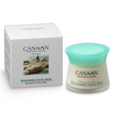 CANAAN Minerals & Herbs - Nourishing Facial Mask - Normal to Dry Skin - DeadSeaShop.de