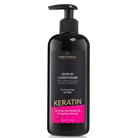 Keratin Leave-in Conditioner für lockiges Haar
