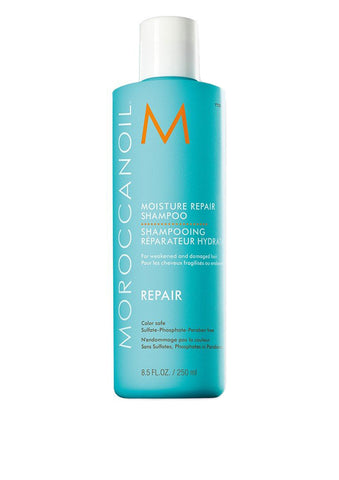MOROCCANOIL - Moisture Repair Shampoo - for weakened & damaged hair 250ml - DeadSeaShop.co.uk