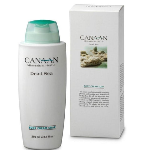 CANAAN Minerals & Herbs - Bath and Body Cream Soap - DeadSeaShop.de