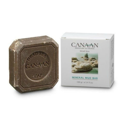 CANAAN Minerals & Herbs - Soap Bar with Dead Sea Mineral Mud- DeadSeaShop.de