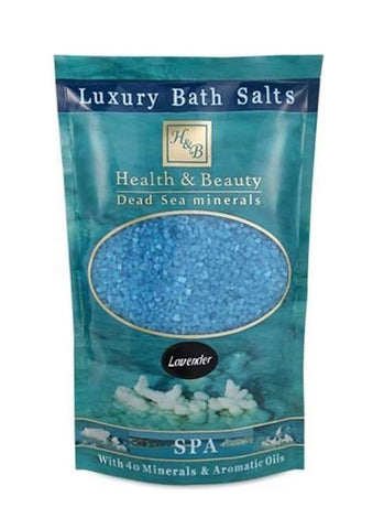 Health & Beauty - Luxuriöses Badesalz Blau Lavendel - DeadSeaShop-de