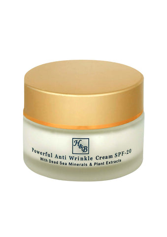 Health & Beauty - Powerful Anti-wrinkle Cream - DeadSeaShop.co.uk