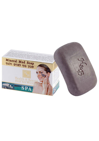 Health & Beauty - Dead Sea Mineral Mud Soap - DeadSeaShop.co.uk