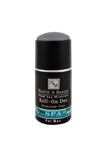 Health & Beauty - Roll-on Deo Aluminium Free - For Men - DeadSeaShop.co.uk