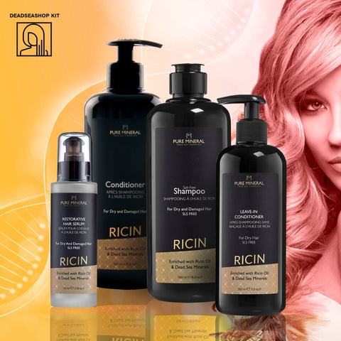 "Castor Shampoo & Conditioner+ <strong><span style=""color: #ff2a00;""><big>2 FREI</big></strong> Leave-In Conditioner & Serum"