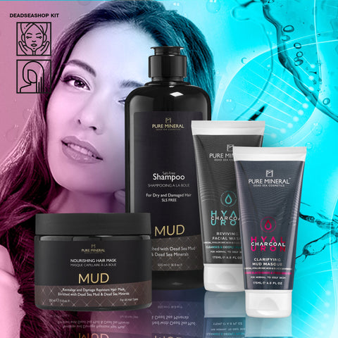 "Mud Shampoo & Mask + <strong><span style=""color: #ff2a00;""><big>2 FREI</big></strong> Gesichtswäsche & Maske"