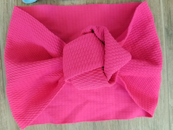 Baby Girl Knot Knit Headband